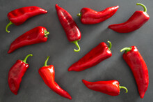 Fresh Ripe Red Capia Pepper, H...