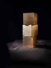Three Blocks Blank