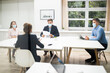 canvas print picture Job Interview Business Meeting