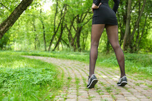 Beautiful Woman Wearing Short ...