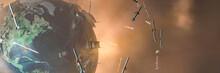 Ballistic Missile, Tank, War Concept