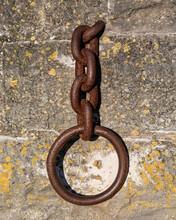 Large Chain At Caernarfon Harb...
