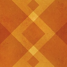 Abstract Orange Background Geo...
