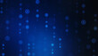 Digital Abstract technology background, futuristic background, cyberspace Concept