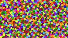 Kolorowe Koła, Tło, Tapeta, ...