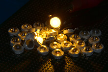 Semiconductor LEDs With Yellow...