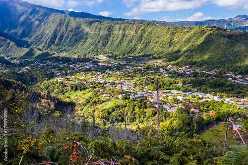 Foto Village de l'Entre-Deux, île de la Réunion