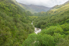 Glen Nevis And The River Nevis...