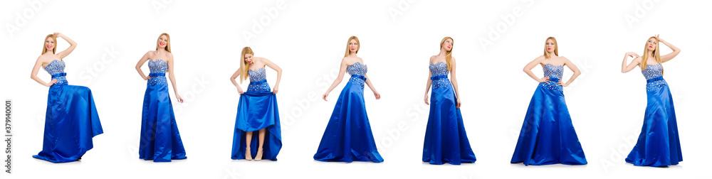 Fototapeta Woman in fashion clothing concept