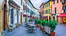 Charming Streets With Bars In ...