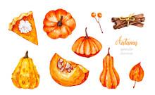 Pumpkins. Squash. Cinnamon Sti...