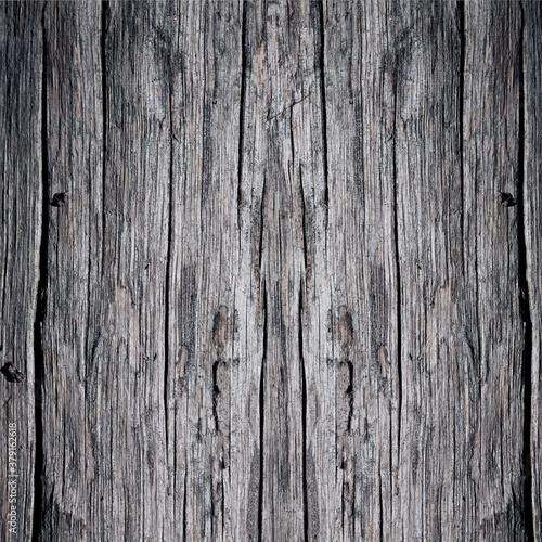 Valokuvatapetti old gray wood texture