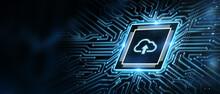 Cloud Computing Concept. Busin...