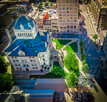 Aerial View Of The Historic Ce...