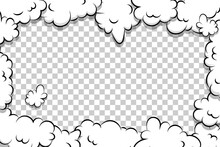Artoon Puff Cloud Template On ...