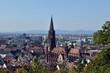 canvas print picture - Freiburg im Breisgau im Herbst