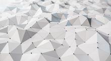 Creative White Polygonal Backd...