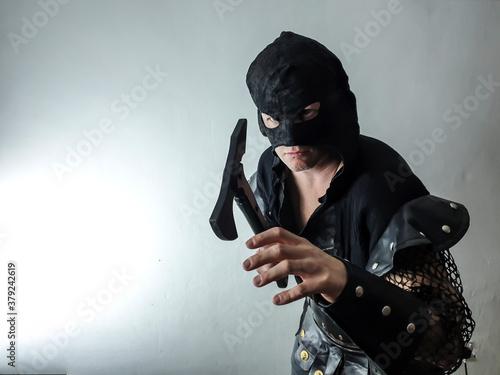 Photo gothic executioner