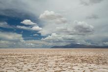 White Desert. View Of The Salt...