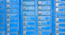 Blue Mailboxes, Metal Street B...