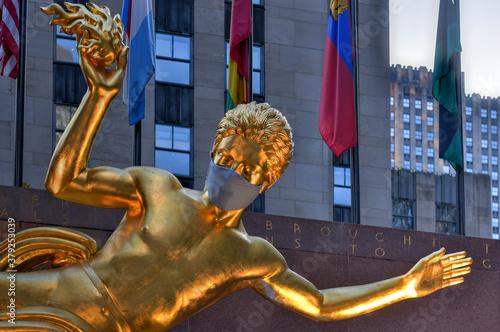 Obraz na plátně Rockefeller Center - New York City