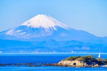 【冬の富士山】三浦半...