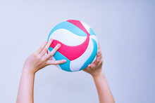 Volley Ball And Hand In Japan