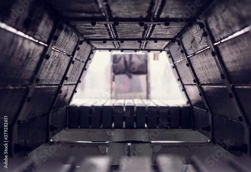 Fotografie, Obraz inside of a bench