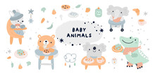Baby Shower Collection With Ve...