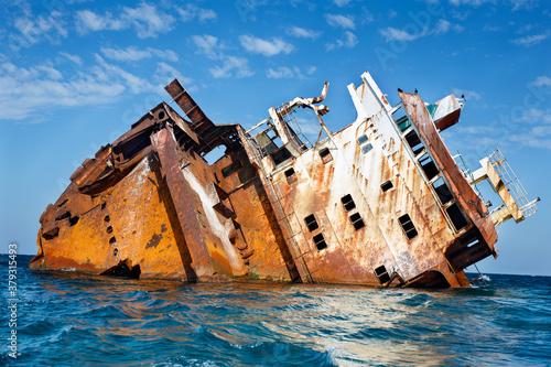 Fotografía Tarkhankut: sunken ship Ibrahim Yakim