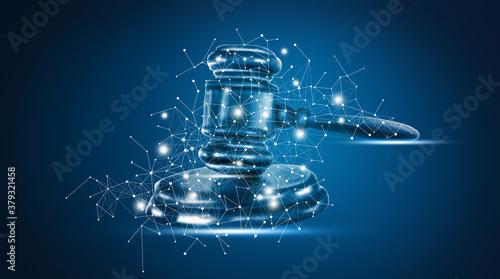 Fotografía Symbol of law and justice. Law and justice concept.