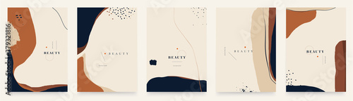Fototapeta Abstract trendy universal artistic background templates. Good for cover, invitation, banner, placard, brochure, poster, card, flyer and other obraz