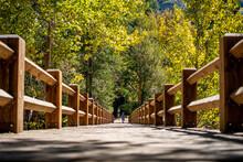 Nice View Of Swinging Bridge  ...