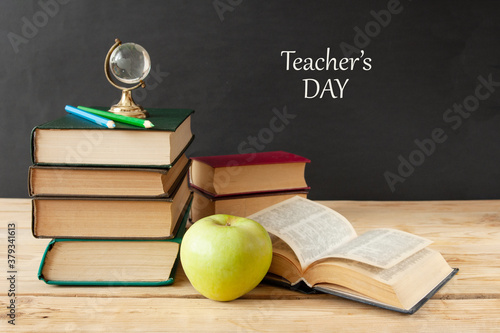 Fotografiet World Teacher's day concept