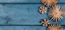 Wooden Christmas Background, T...