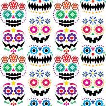 Halloween And Dia De Los Muert...