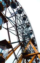 Ferris Wheel In Bridlington, East Yorkshire, UK