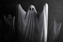White Ghost Haunting With A Da...