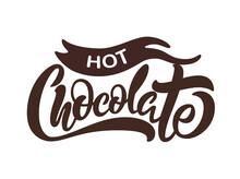 Hot Chocolate Logo - Vector Illustration, Emblem Design