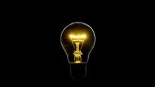 Tungsten Light Bulb Blinking O...