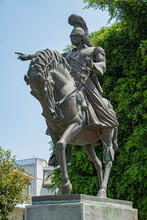 Reiterstandbild Theodoros Kolo...