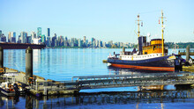 Tugboat At Lonsdale Quay, Nort...