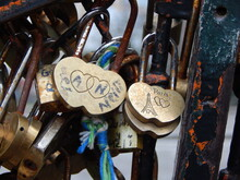 Love Padlock Paris