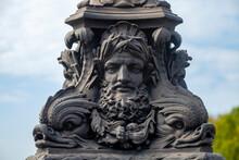 Statue Pont Neuf Lampadaire