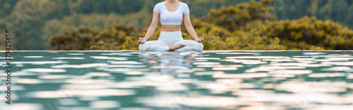 Banner Calm of Beautiful Attractive Fotobehang
