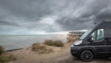Black Fiat Ducato Campervan St...