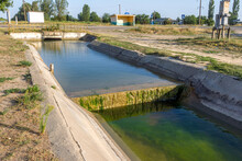 Agricultural Canal Or Irrigati...