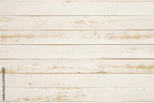Vászonkép 白く塗った荒い板、背景素材