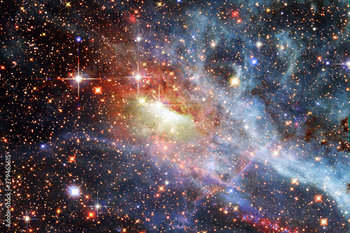 Gorgeous galaxy and stars Wallpaper Mural