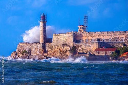 Fotografia Castillo De Los Tres Reyes Del Morro. La Habana, Cuba.